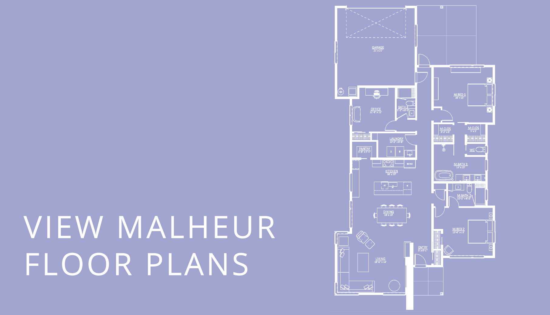 malheur floor plans